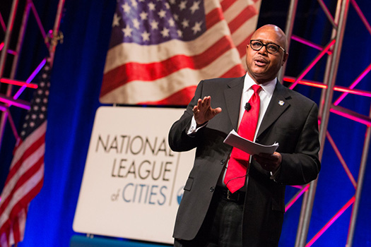 Vince Williams Speaks at the National League of Cities event