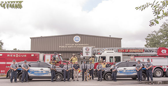 Consolidated Bainbridge police and fire departments